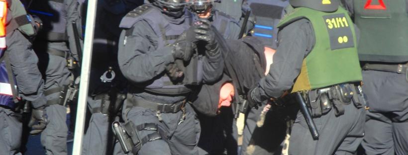 Polizei im Einsatz (Symbolfoto)