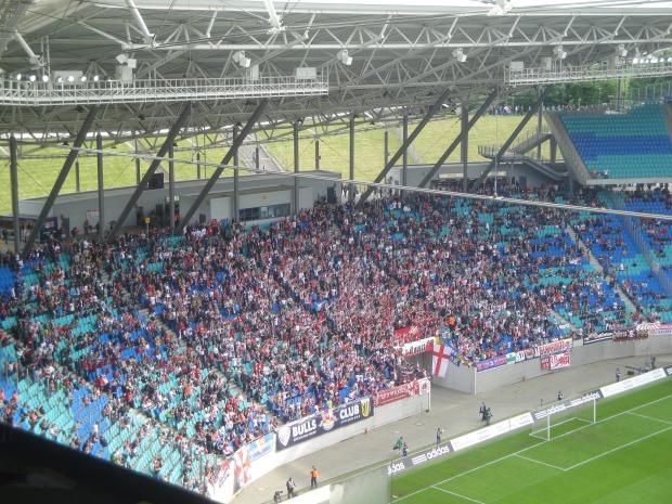 RB-Block im Stadion